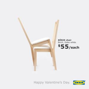 creative valentine's day ads| Adventure Marketing