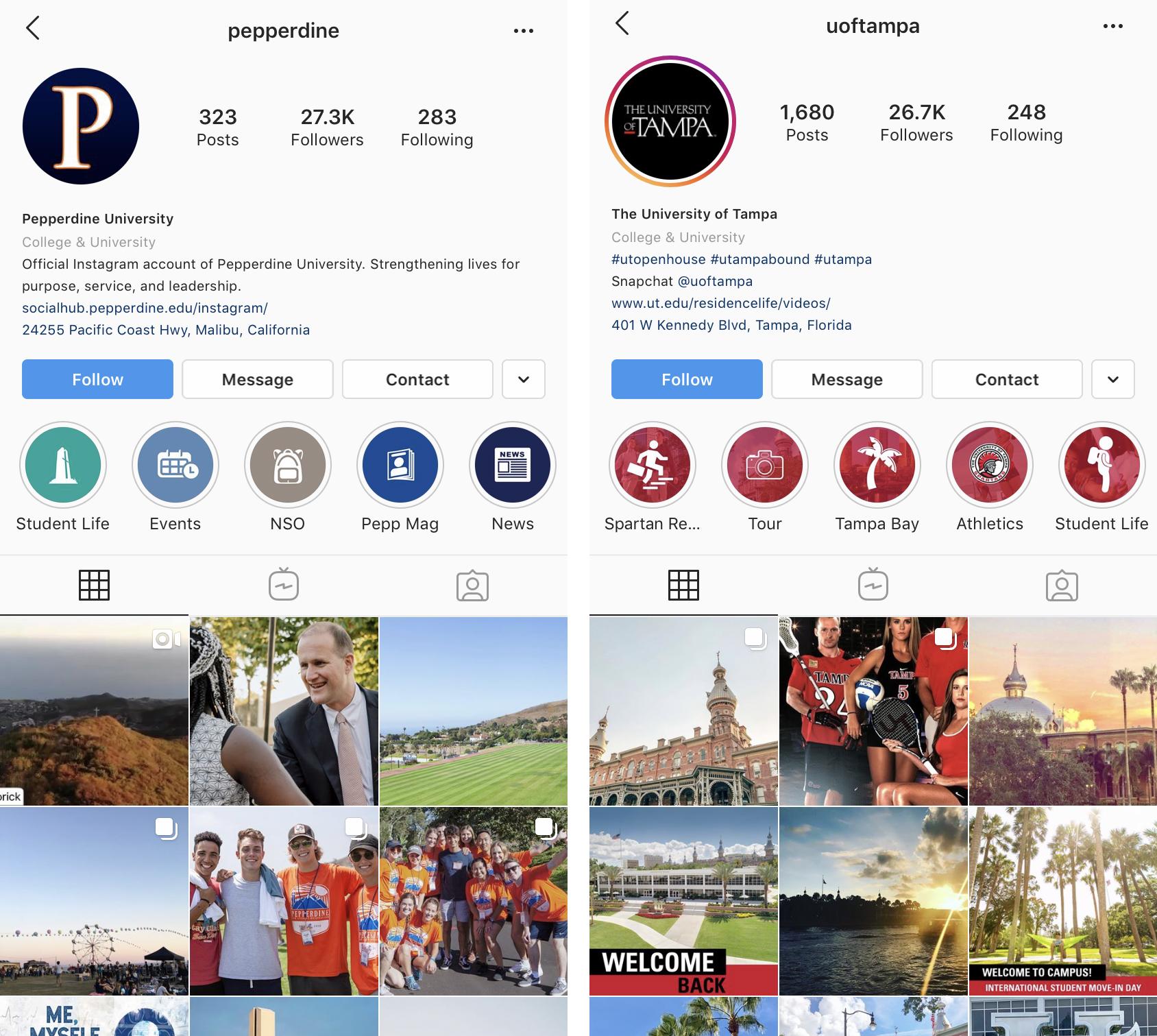 Instagram Screenshot | ADventure Marketing