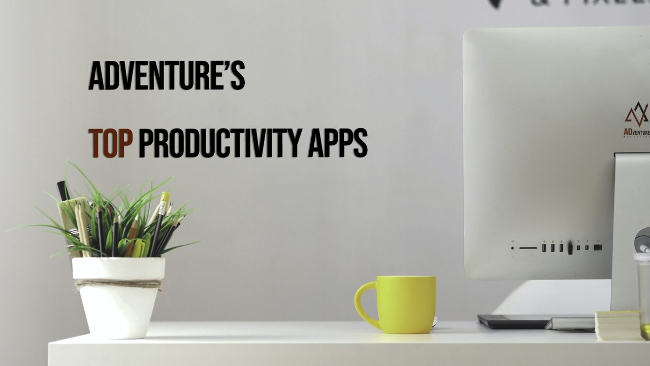 Top Productivity Apps; digital marketing agency, marketing companies, Tampa Marketing Company, marketing agency  | ADventure Marketing, Tampa, FL