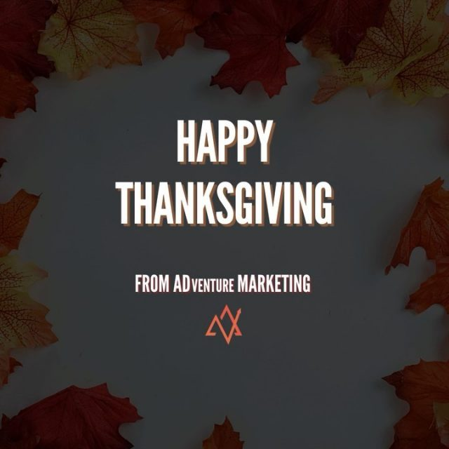 Wishing you a happy, safe, and healthy Thanksgiving! 🦃🍁  We're thankful for our amazing clients and team today and every day 🙌🏼